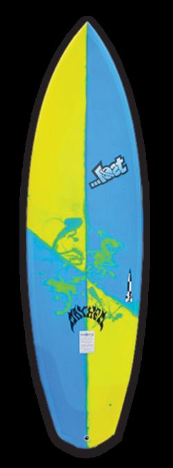 V2 Rocket Lost Surfboards By Matt Biolos